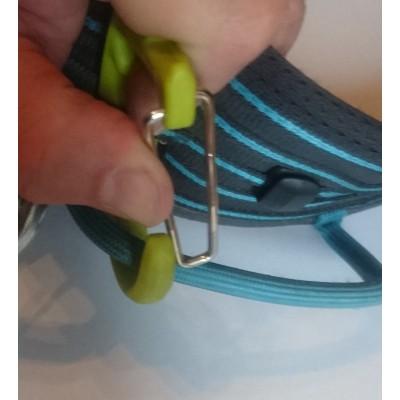 Tuotetta Edelrid - SM Clip - Jääruuvisulkurengas koskeva kuva 2 käyttäjältä Manuel
