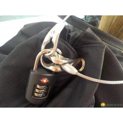 Tuotetta Pacsafe - Travelsafe X 25 - Arvoesineiden säilytyspussit koskeva kuva 5 käyttäjältä Jens