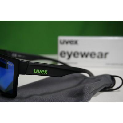 Tuotetta Uvex - LGL 29 Mirror Green S3 - Aurinkolasit koskeva kuva 3 käyttäjältä Ole