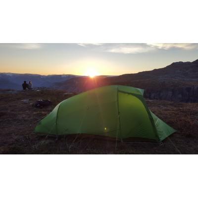 Tuotetta Vaude - Hogan SUL XT 2-3P - 2 henkilön teltta koskeva kuva 2 käyttäjältä Sabine