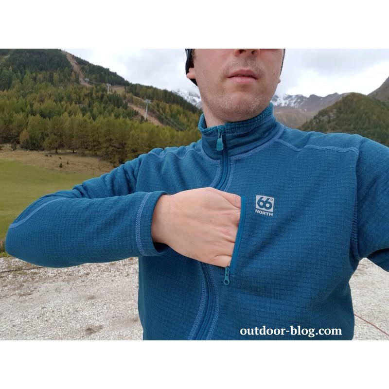 Tuotetta 66 North - Grettir Zipped Jacket - Fleecetakki koskeva kuva 2 käyttäjältä Dennis