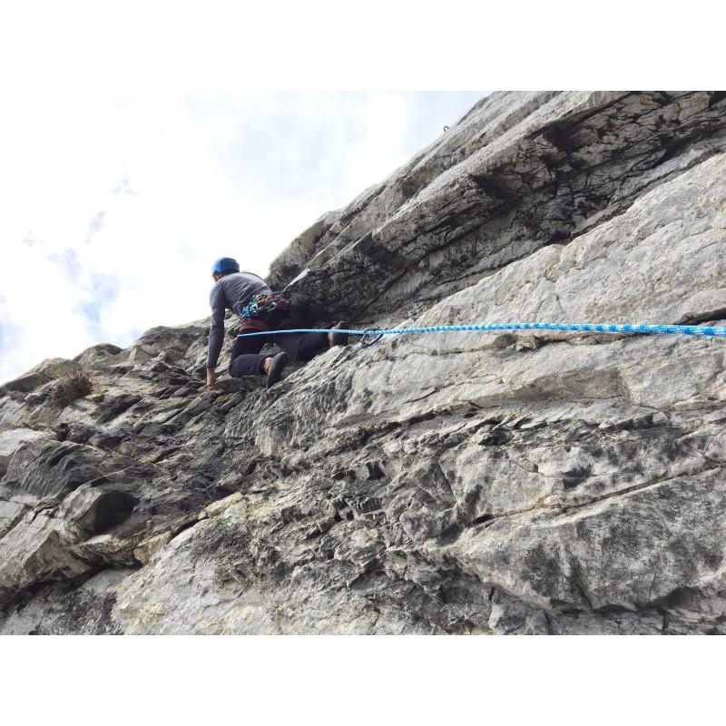 Tuotetta Bergfreunde.de - Kletterseil-Seilsack-Set Zopa - Kiipeilysetti koskeva kuva 1 käyttäjältä Mike