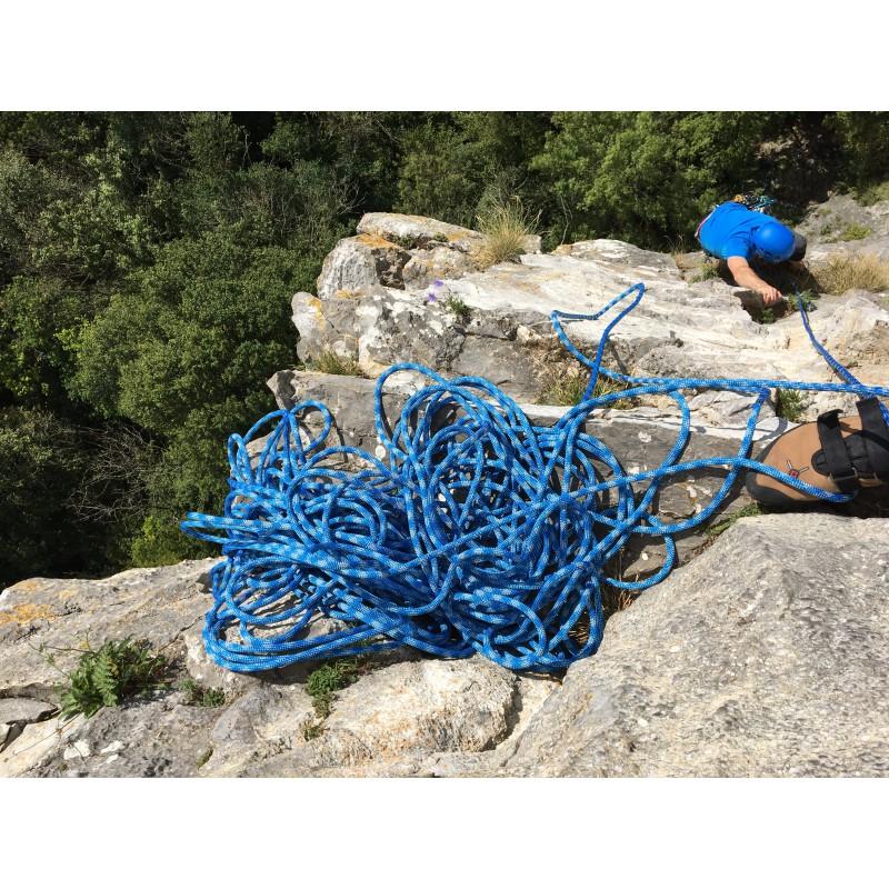 Tuotetta Bergfreunde.de - Kletterseil-Seilsack-Set Zopa - Kiipeilysetti koskeva kuva 2 käyttäjältä Mike