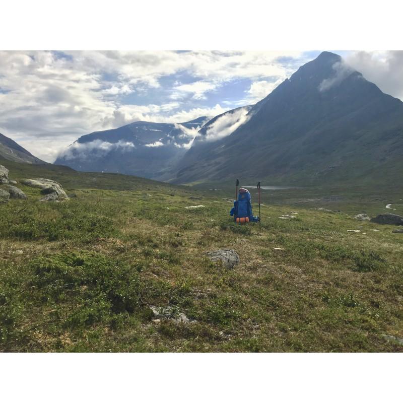 Tuotetta Fjällräven - Women's Abisko 65 - Trekkingreppu koskeva kuva 1 käyttäjältä Katharina