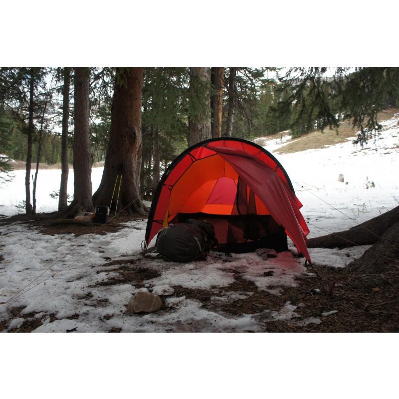 Tuotetta Hilleberg - Anjan 2 - 2 henkilön teltta koskeva kuva 4 käyttäjältä Carsten