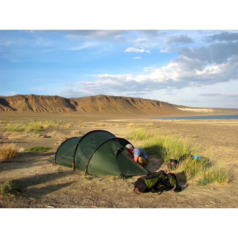 Tuotetta Hilleberg - Nallo 3 GT - 3 hlön teltta koskeva kuva 1 käyttäjältä Bernd