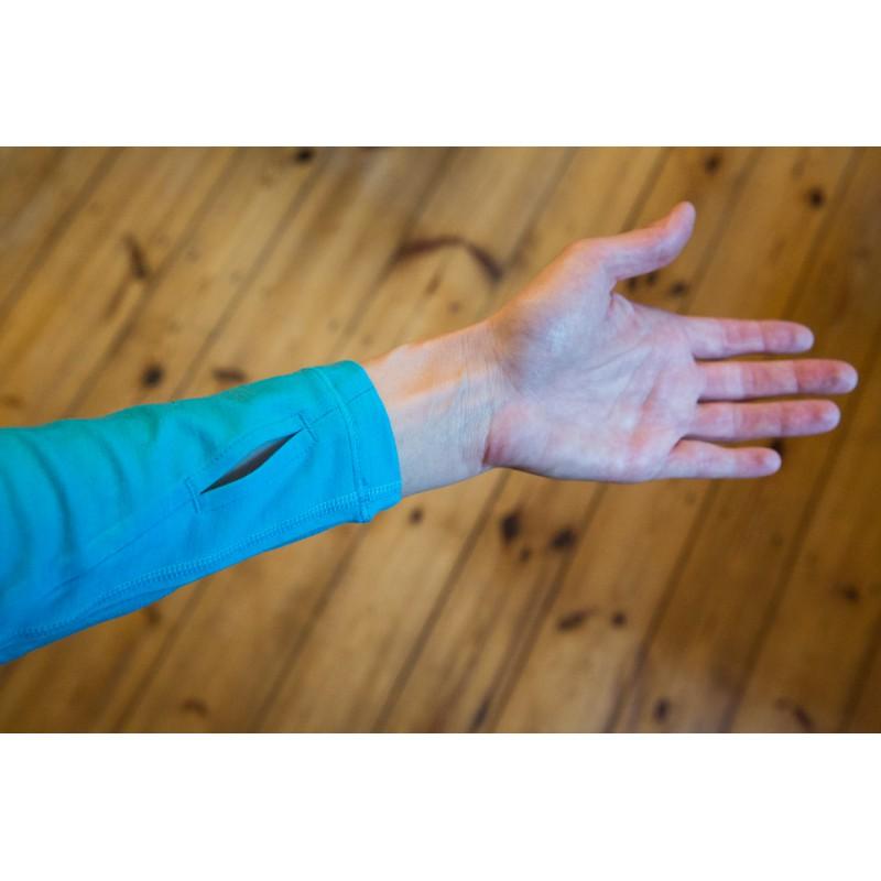 Tuotetta Icebreaker - Women's Pace LS Zip - Longsleeve koskeva kuva 1 käyttäjältä Anke