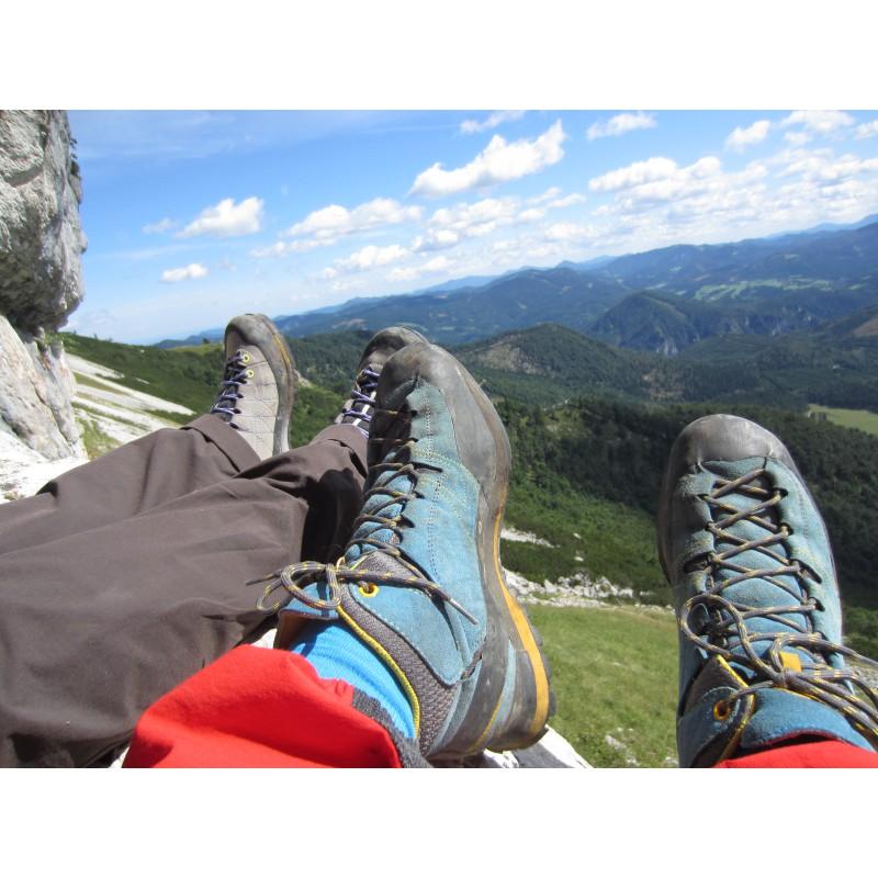 Tuotetta La Sportiva - Boulder X Mid GTX - Approach-kenkä koskeva kuva 1 käyttäjältä Samuel
