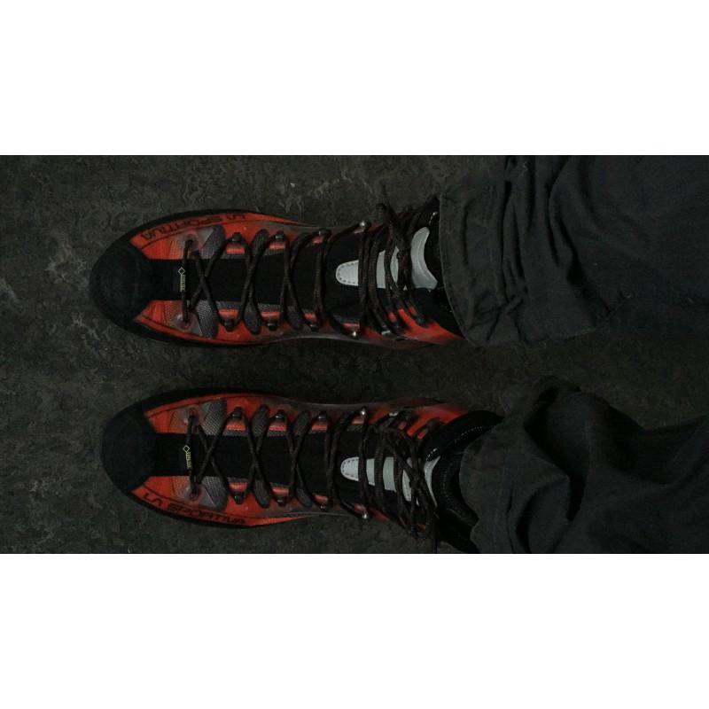 Tuotetta La Sportiva - Trango Cube GTX - Vuoristokengät koskeva kuva 2 käyttäjältä Liam