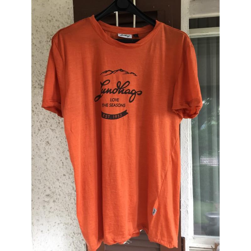 Tuotetta Lundhags - Merino Light Established Tee - T-paidat koskeva kuva 1 käyttäjältä Rainer