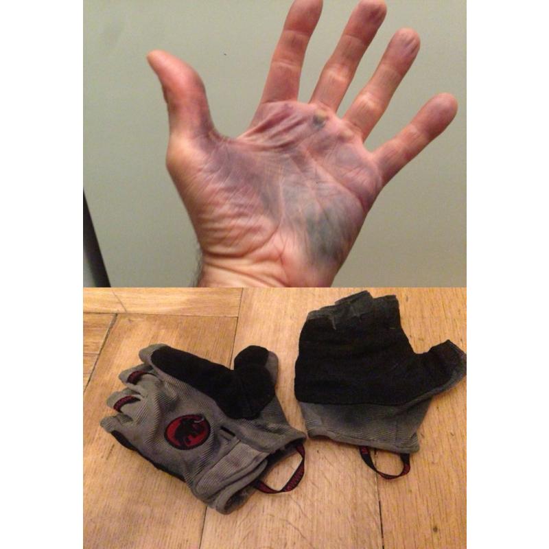 Tuotetta Mammut - Trovat Glove - Via ferrata -kiipeilykäsineet koskeva kuva 1 käyttäjältä Frederik