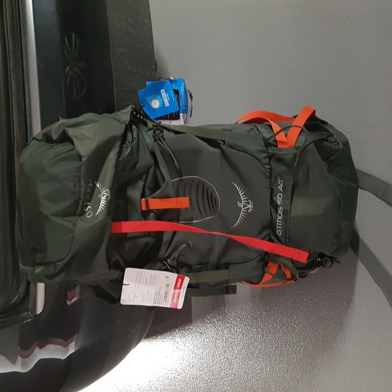 Tuotetta Osprey - Atmos AG 50 - Retkeilyreppu koskeva kuva 2 käyttäjältä alex