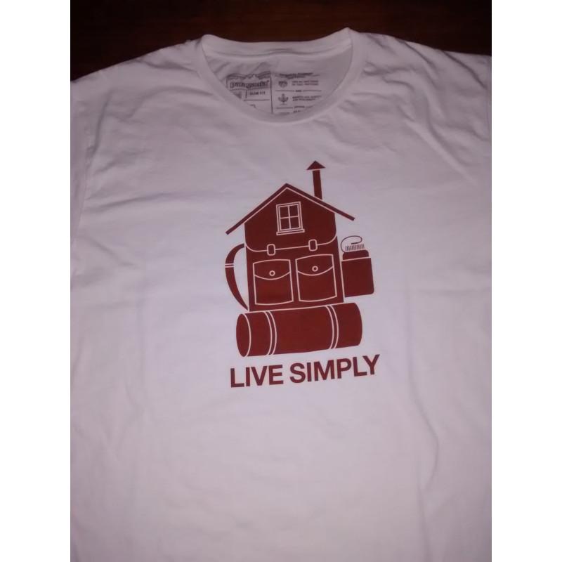 Tuotetta Patagonia - Live Simply Home Organic T-Shirt - T-paidat koskeva kuva 1 käyttäjältä David