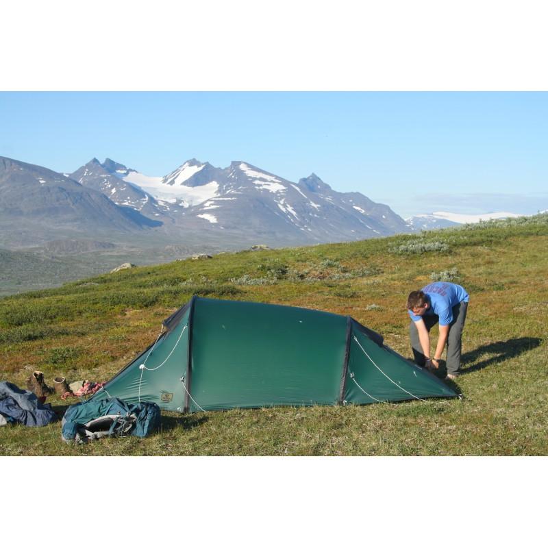 Tuotetta Rejka - Antao II Light - 2 hlön teltta koskeva kuva 1 käyttäjältä Martin