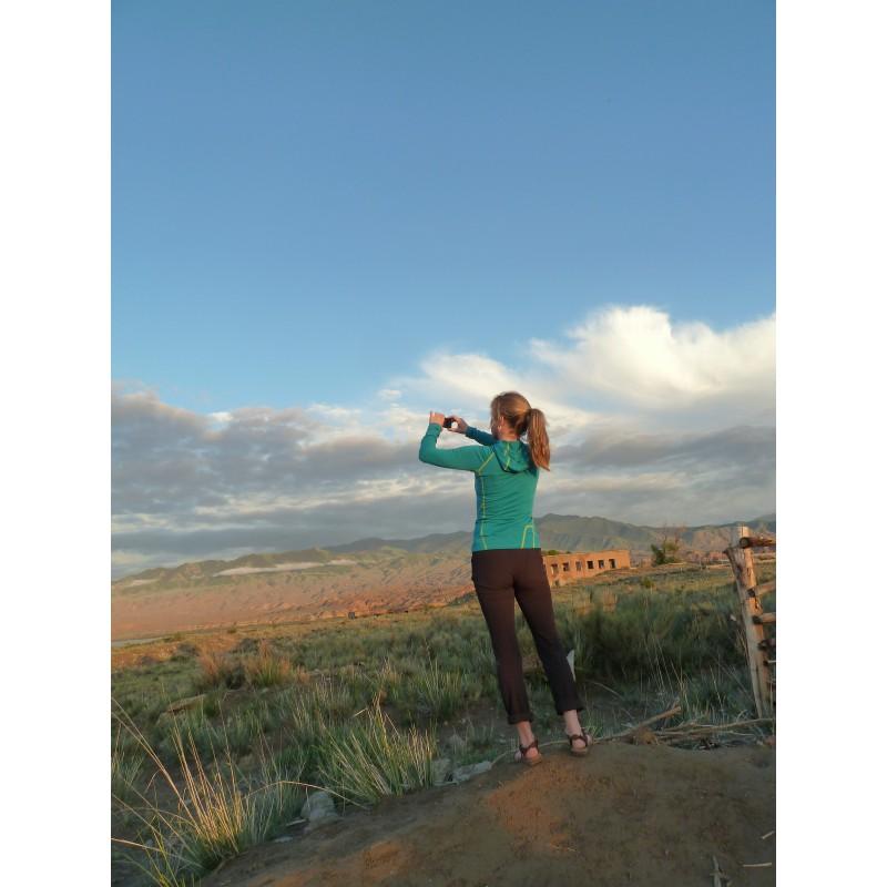 Tuotetta Salomon - Women's Wayfarer Mountain Pant - Trekkinghousut koskeva kuva 1 käyttäjältä Jutta