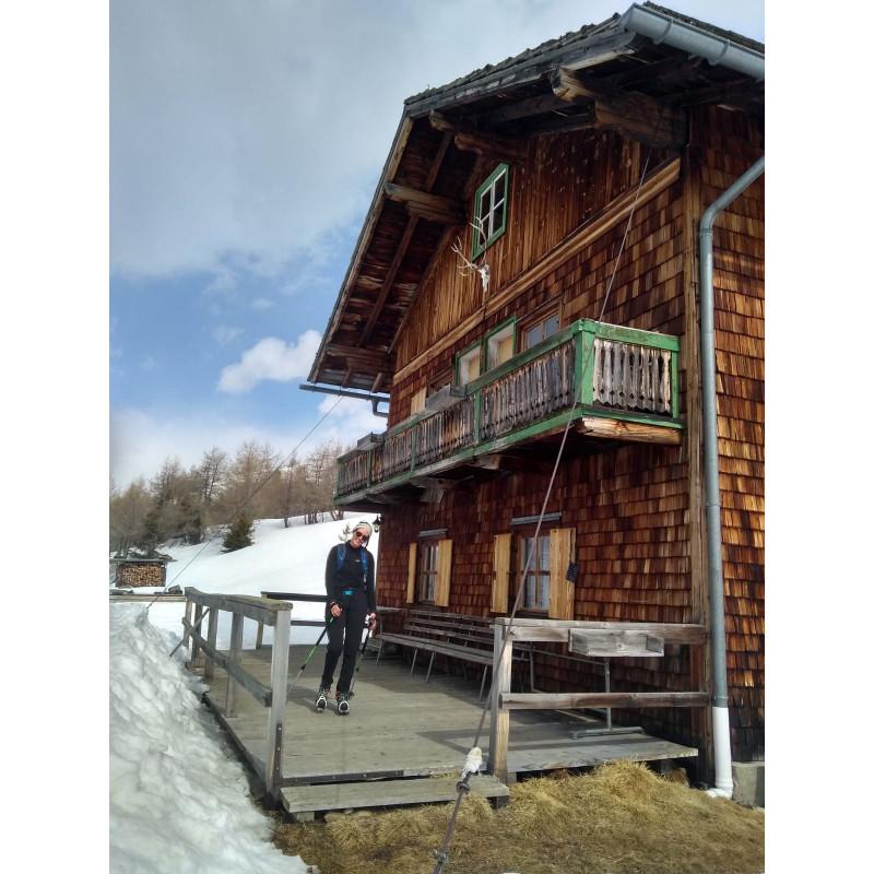 Tuotetta Salomon - Women's X Alp Mid Leather GTX - Vuoristokengät koskeva kuva 1 käyttäjältä Franziska
