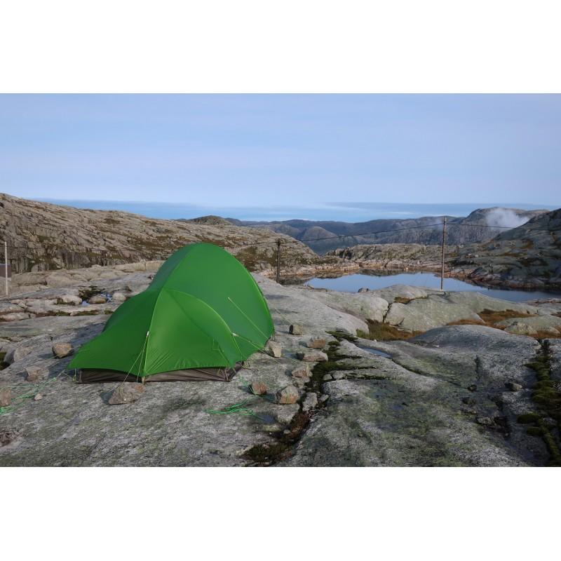 Tuotetta Vaude - Hogan SUL XT 2-3P - 2 henkilön teltta koskeva kuva 1 käyttäjältä Sabine