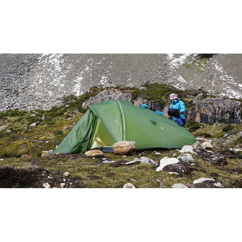 Tuotetta Vaude - Taurus Ultralight XP - 2 hlön teltta koskeva kuva 2 käyttäjältä Oliver