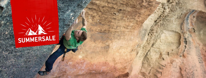 Summer Sale! Discover climbing gear ans climbing shoes!