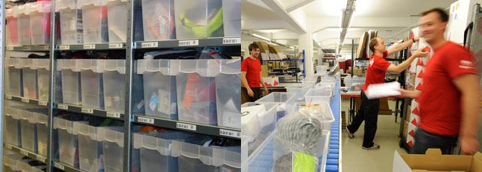 Varastossamme on yli 25 000 tuotenimikettä. Kiireisimpinä päivinä käsittelemme yli 1 600 tilausta